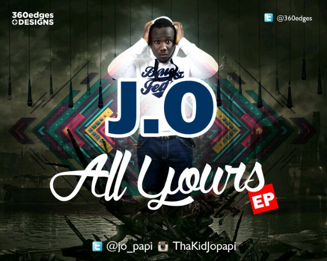All Yours EP Artwork - Jo Papi